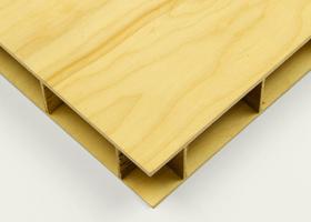 Wood Grid Panel - Simon Liu Inc.