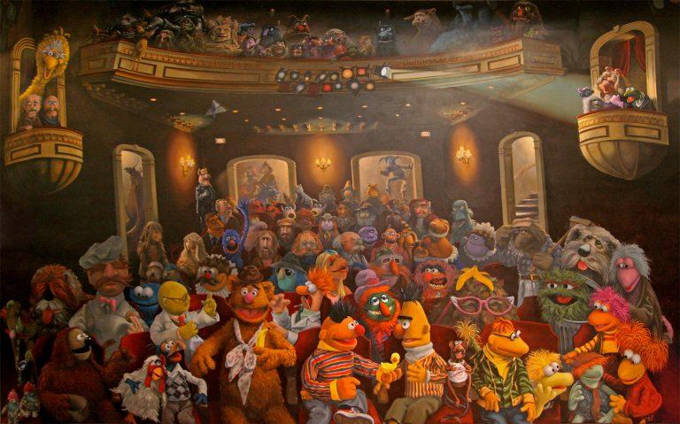 Coulter Watt's Muppet Mural